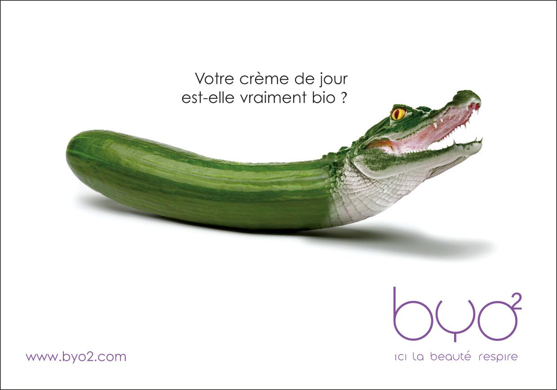 BYO2 Publicité crème de jour