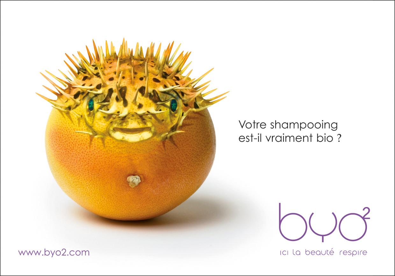 BYO2 - publicité shampooing