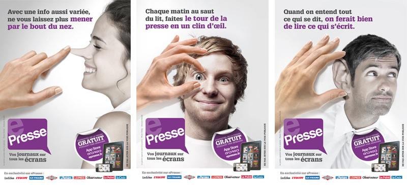 EEPRESSE - publicité lancement