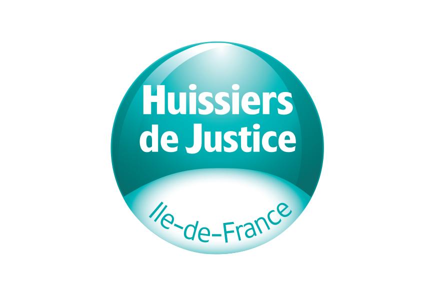 HUISSIERS DE JUSTICE - logo ILE DE FRANCE