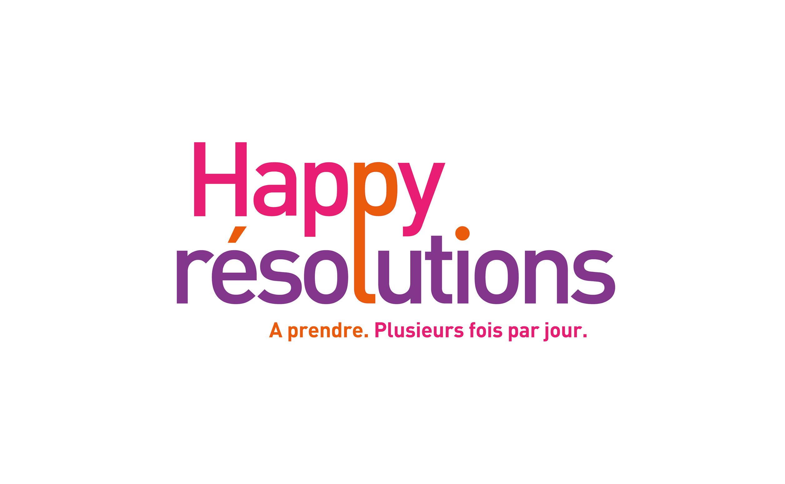 HAPPY RESOLUTION -Logo