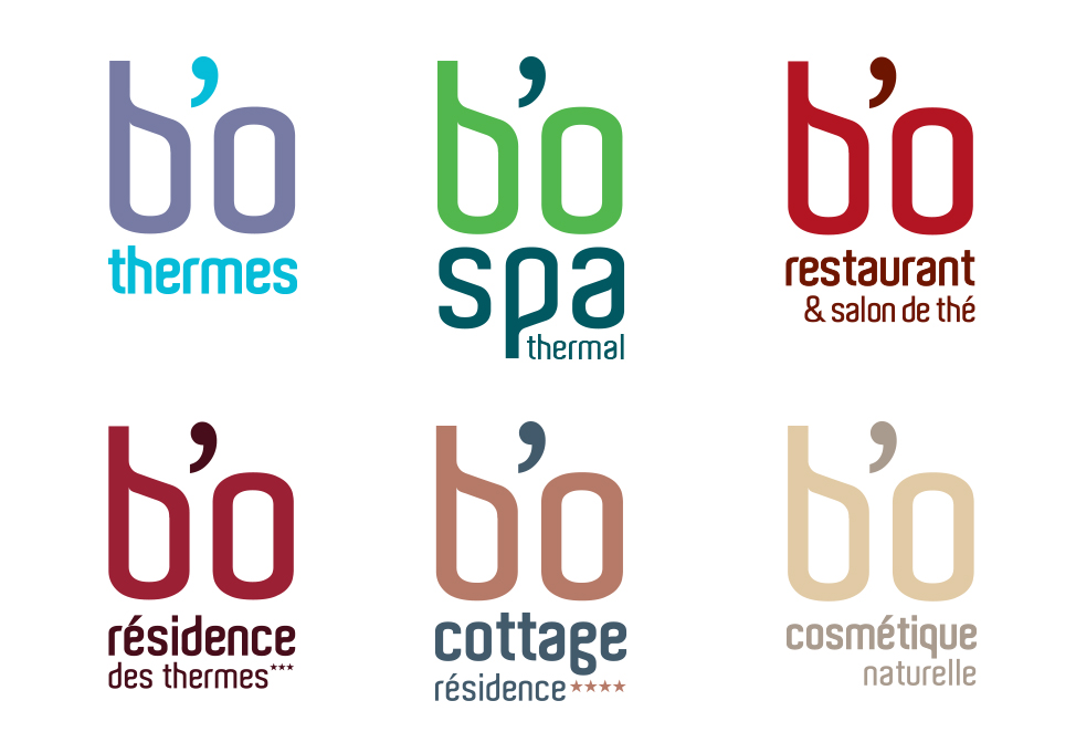 BO resort - logos marques