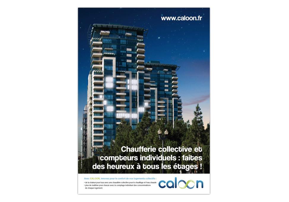 CALOON - Publicité B2B - annonce presse