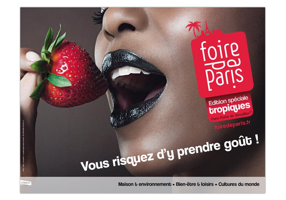 FOIRE DE PARIS 2010 - Publicité affiche