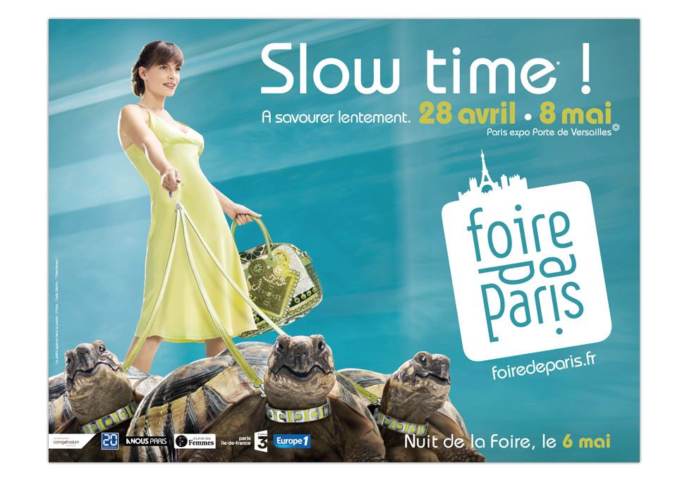 FOIRE DE PARIS 2011 - Publicité affichage