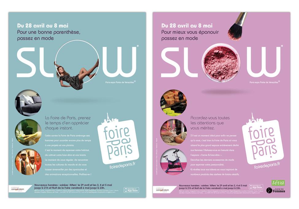 FOIRE DE PARIS 2011 - Publicité presse