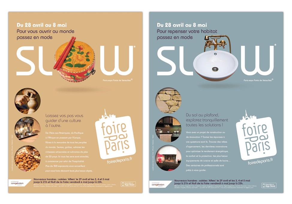 FOIRE DE PARIS 2011 - Publicités secteurs