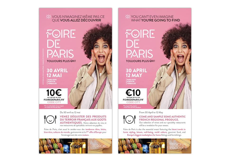 FOIRE DE PARIS 2013 - FLYER