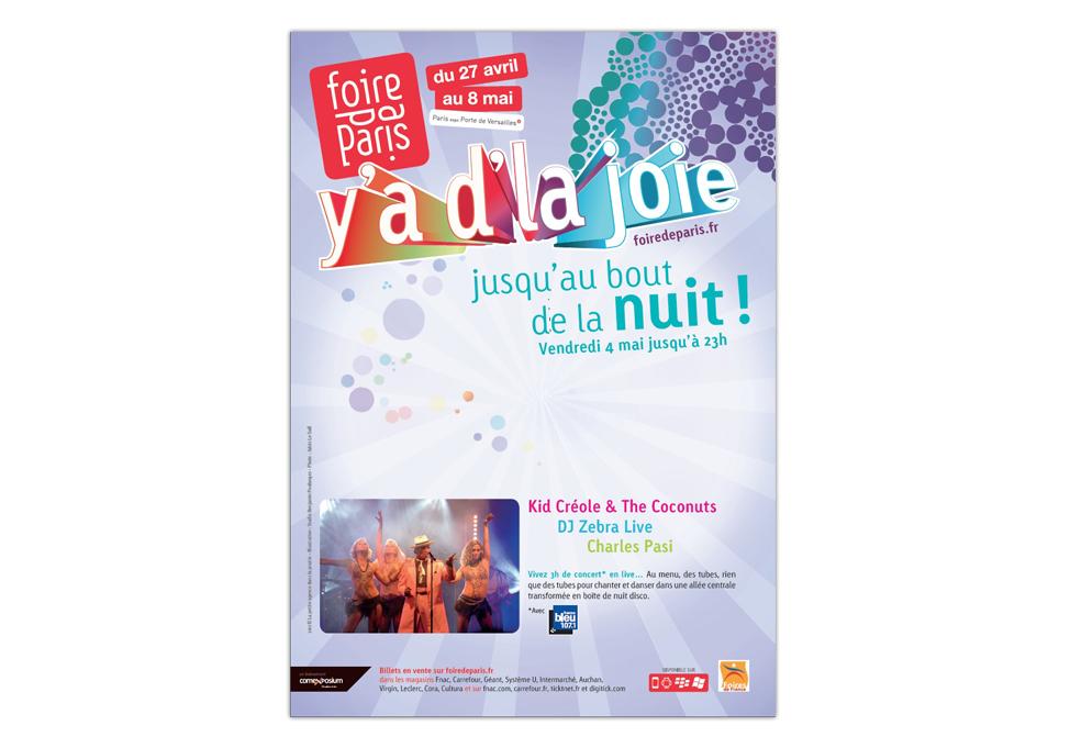 FOIRE DE PARS 2012 - Publicité Nuit de la Foire