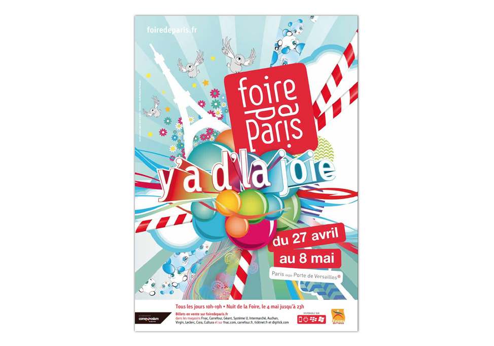 FOIRE DE PARIS 2012 - Publicité presse generique