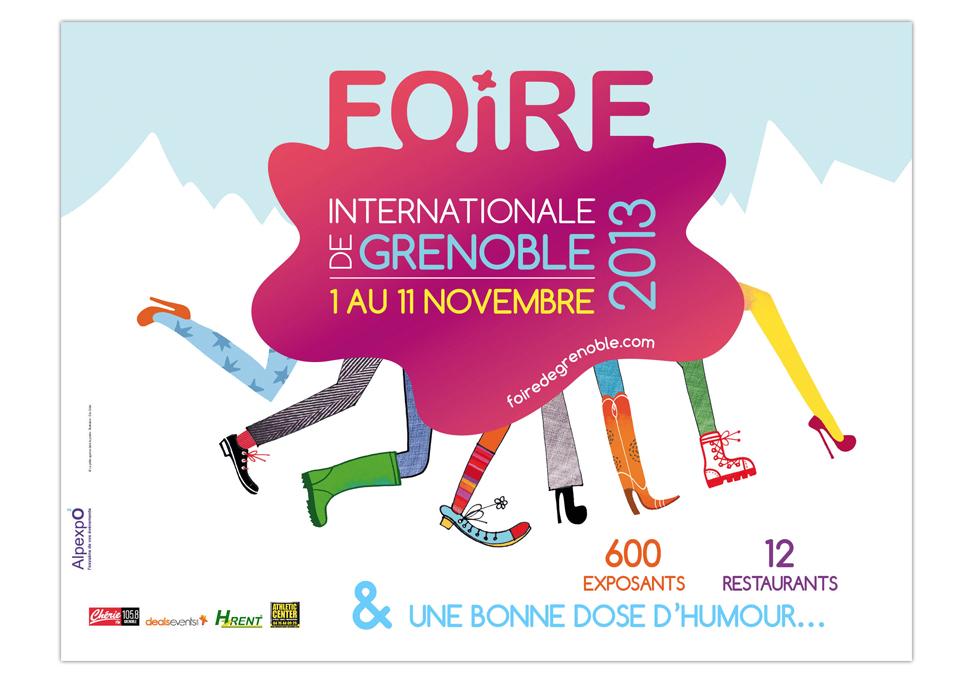 FOIRE INTERNATIONALE DE GRENOBLE - publicité