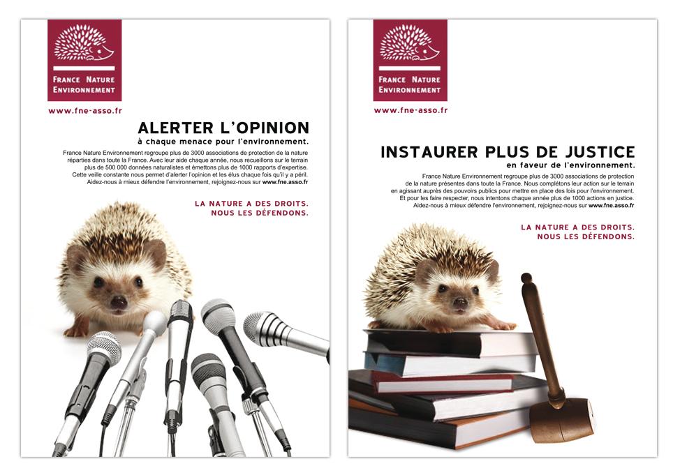 France Nature Environnement - Publicité