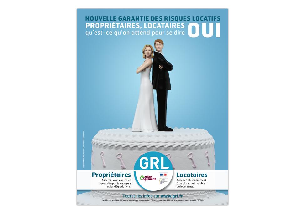 GRL - Publicité presse