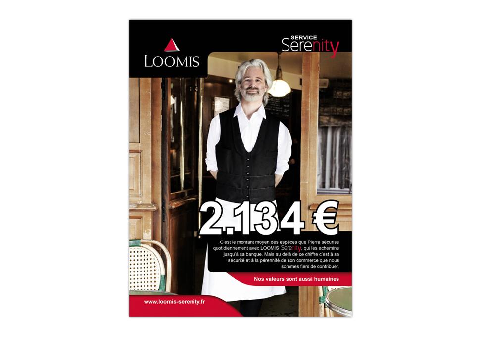 LOOMIS - Publicité SERENITY