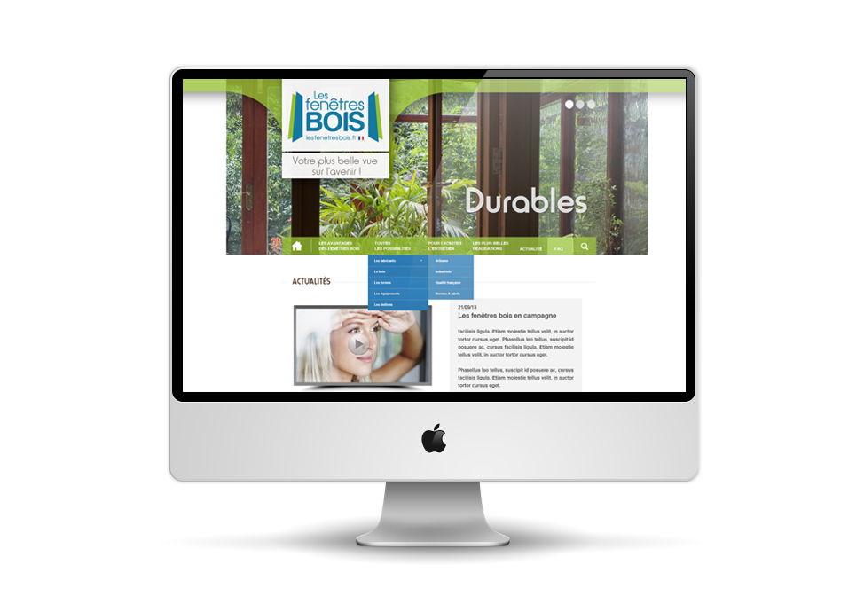 CNDB - site internet fenetres bois