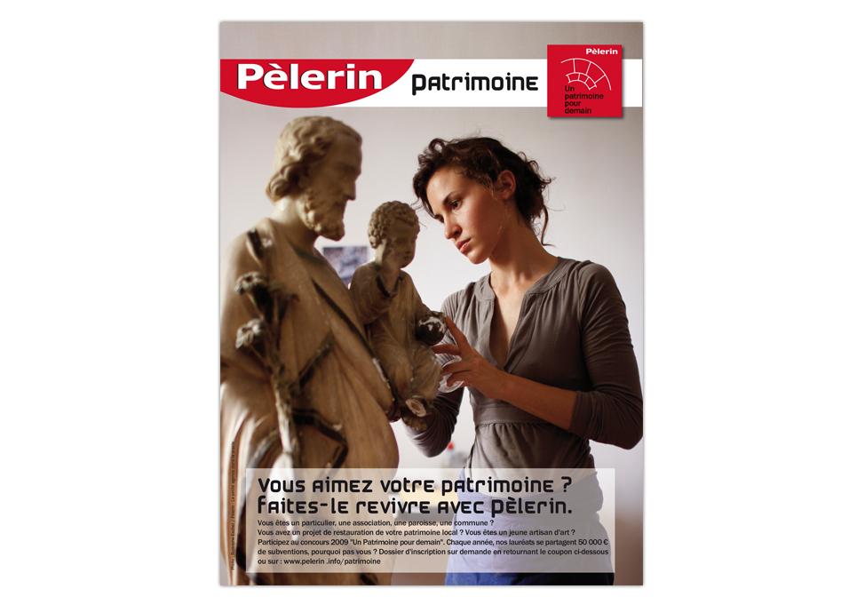 PELERIN - Publicité patrimoine