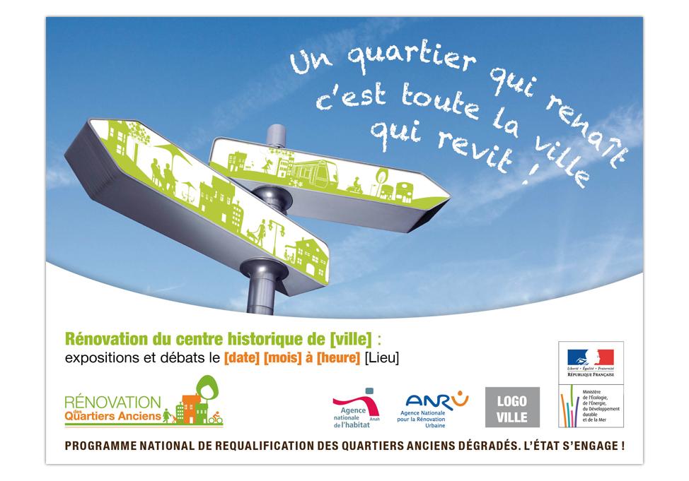 PNRQAD - Publicité affiche