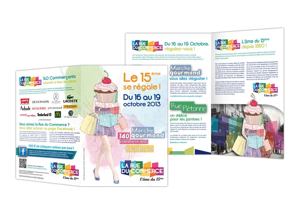 RUE DU COMMERCE - flyer