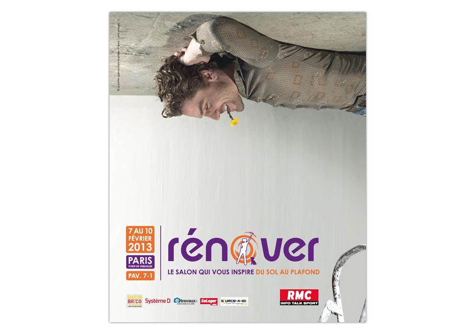 Salon Rénover - Publicité presse