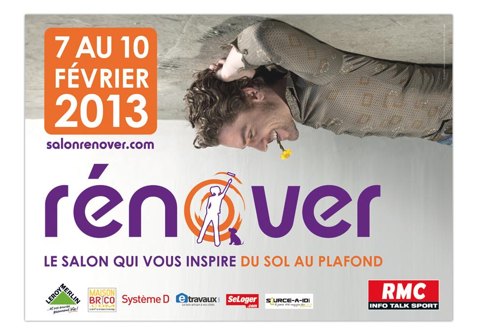Salon Rénover - Publicité affiche