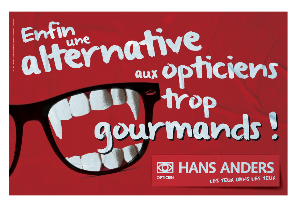 HANS ANDERS - affiche Avril 2014