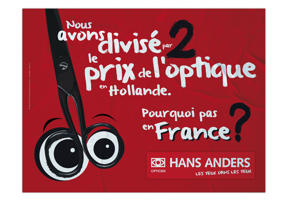 HANS ANDERS - Affiche Mars 2014