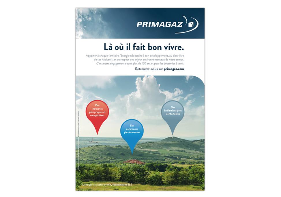 PRIMAGAZ - annonce presse corporate