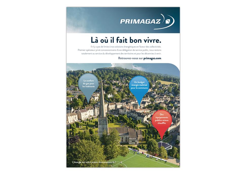 PRIMAGAZ - annonce presse collectivités